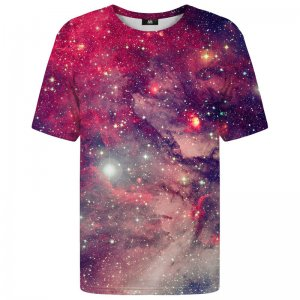 Mr. Gugu & Miss Go Red Galaxy Unisex Short Sleeved T Shirt TSH1189