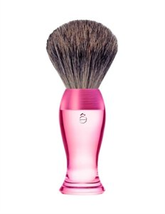 eShave Badger Hair Shaving Brush Fine Pink 780005