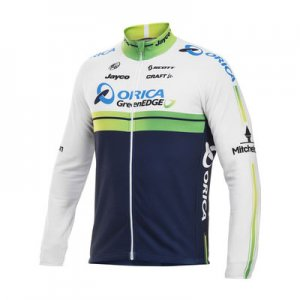 Craft Orica Green Edge Long Sleeved Jersey Performance Wear White 1903451