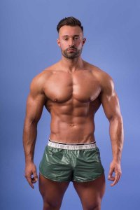 AMU Lightweight Shorts Green ALGRI-FO2