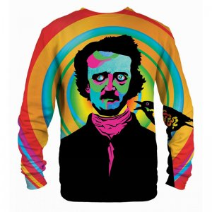Mr. Gugu & Miss Go Edgar Poe Unisex Sweater S-PC746