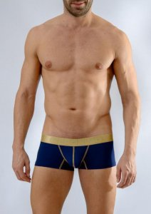 Geronimo Boxer Brief Underwear Dark Blue 1663B2-3