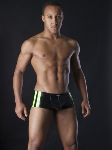 MANstore M257 Apropo Pants Boxer Brief Underwear Hotgreen 2-08262/8150