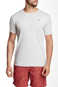 Mr.Swim The Classic Short Sleeved T Shirt Silver