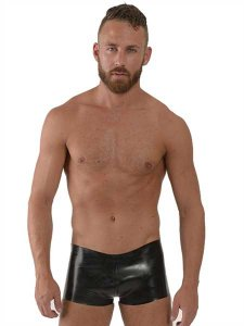 Mister B Rubber Stripes Shorts Black/White 311900