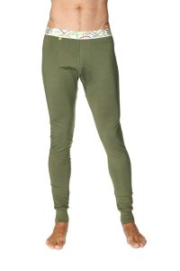 4-rth Crosstrain Thermal Yoga Pants Rainforest Green