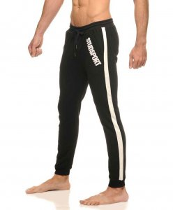 STUD Culver Sweat Pants Black