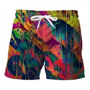 Mr. Gugu & Miss Go Wet Paint Trunks Swimwear ST705