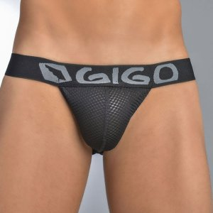 Gigo SEX BLACK G String Underwear