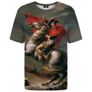 Mr. Gugu & Miss Go Napoleon Crossing The Alps Unisex Short Sleeved T Shirt TSH1140