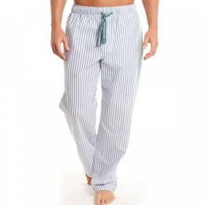 Papi Striped Loungewear Pyjama Pants Teal 627211-416