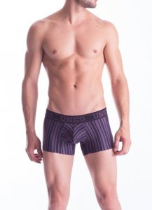 Mundo Unico Nazca Short Boxer Brief Underwear Black/Purple 15100825-86