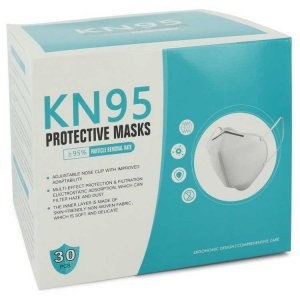 DBE Kn95 [30 Pack] Adjustable Nose Clip, Soft Non Woven Fabric, FDA & CE Approved (Unisex) Face Mask 550331