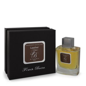 Franck Boclet Leather Eau De Parfum Spray 3.4 oz / 100.55 mL...