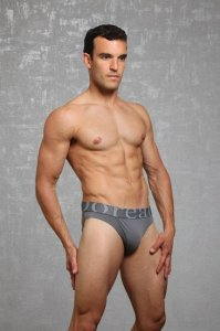 Doreanse Logo Slip Brief Underwear Smoke 1225