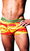 Frank Dandy Sprangle Boxer Brief Underwear Yellow 10832 USA1