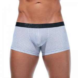Gregg Homme FEEL IT Stripe Trunk Boxer Brief Underwear Orang...