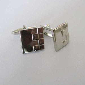Distino Of Melbourne Formal Checkers Cufflinks C03