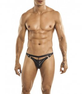 Miami Jock Swing Jock Strap Underwear Black 030810