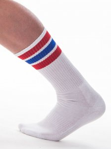 Barcode Berlin [3 pack] Me-Time Socks White/Red/Blue 91367-230