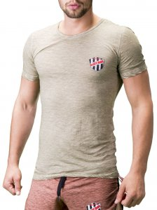 Barcode Berlin Alvin Short Sleeved T Shirt Army 91199-1200