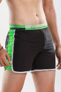 Nukleus Gift Collection The Gift's Nature Loose Boxer Shorts Underwear Black N-WG-03