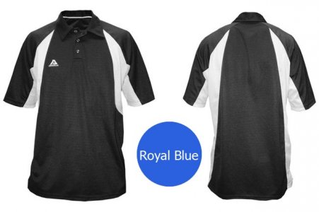 Akadema Sport Polo Short Sleeved Shirt Royal Blue SPOLO