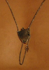 Bijoux Da Mano Necklace Scarlett Shield