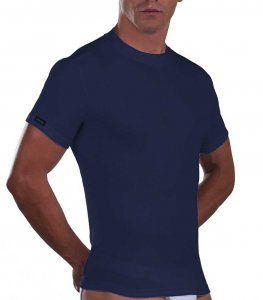 Lord Cotton Short Sleeved T Shirt Blue 180