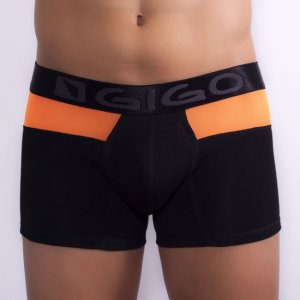 Gigo SKINS ORANGE Long Boxer Underwear