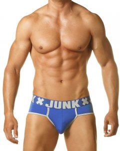 Junk Underjeans Burn Brief Underwear Royal Blue MB20032