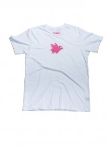 Breese Pigs Fly Short Sleeved T Shirt PIGFLYT100