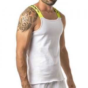 Jor TRADITIONAL Tank Top T Shirt White