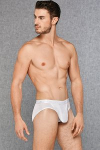 Doreanse Adonis Panel Brief Underwear White 1207