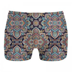 Mr. Gugu & Miss Go Regional Pattern Boxer Brief Underwear UN1073