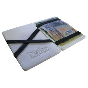 Distino Of Melbourne Leather Flip Wallet White FWALLET
