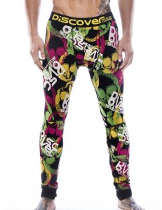 Discover Skull Long Johns Long Underwear Pants 90753