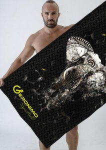 Geronimo Towel Black 1704X1