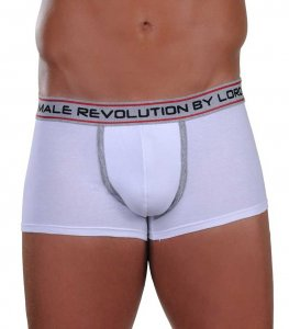 Lord Revolution Short Boxer Brief Underwear White 8166