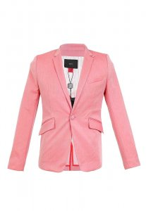 Spy Henry Lau Slim Cut Tailor Jacket Pink SP788AA84NWXHK