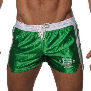 ES Collection Shiny Shorts Green SP004