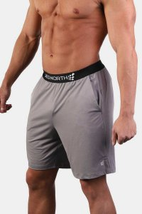 Jed North Zenith Workout Shorts Grey JNBTM005