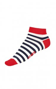 Litex Designer Stripes Anklet Socks 99666