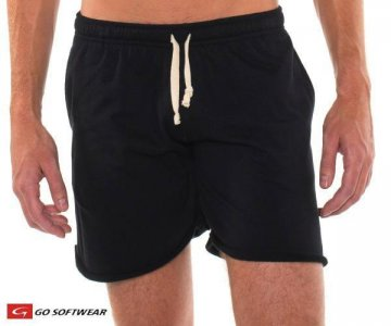 Go Softwear West Coast Warm Up Pockets Shorts Black 4677