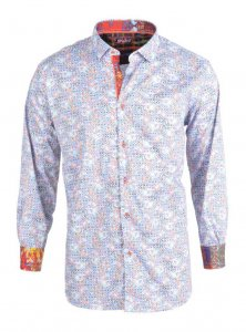Spazio Polychrome Long Sleeved Shirt Multi 11-1796
