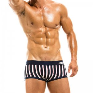 Modus Vivendi Marine Square Cut Trunk Swimwear Blue GS1921