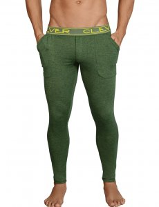 Clever Cale Athletic Pants Green 0317