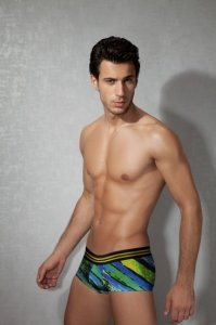 Doreanse Multicolor Stripe Boxer Brief Underwear 1840