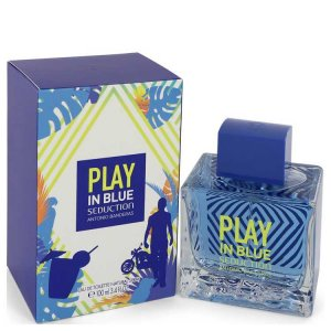 Antonio Banderas Play In Blue Seduction Eau De Toilette Spra...