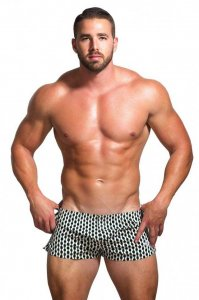 Marcuse Calecon Checks Loose Boxer Shorts Underwear Green
